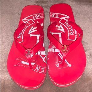 Ralph Lauren flip flop sandals